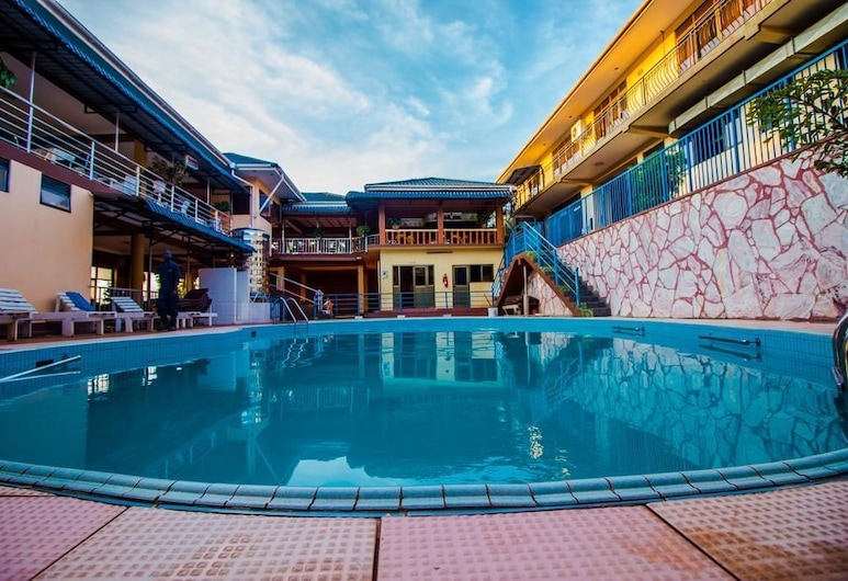 Hotel Paradise on the Nile, Jinja, Alberca al aire libre