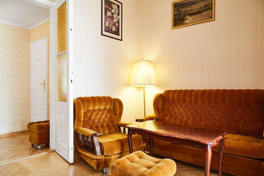 Lägenhet City - 5 sovrum - Vardagsrum
