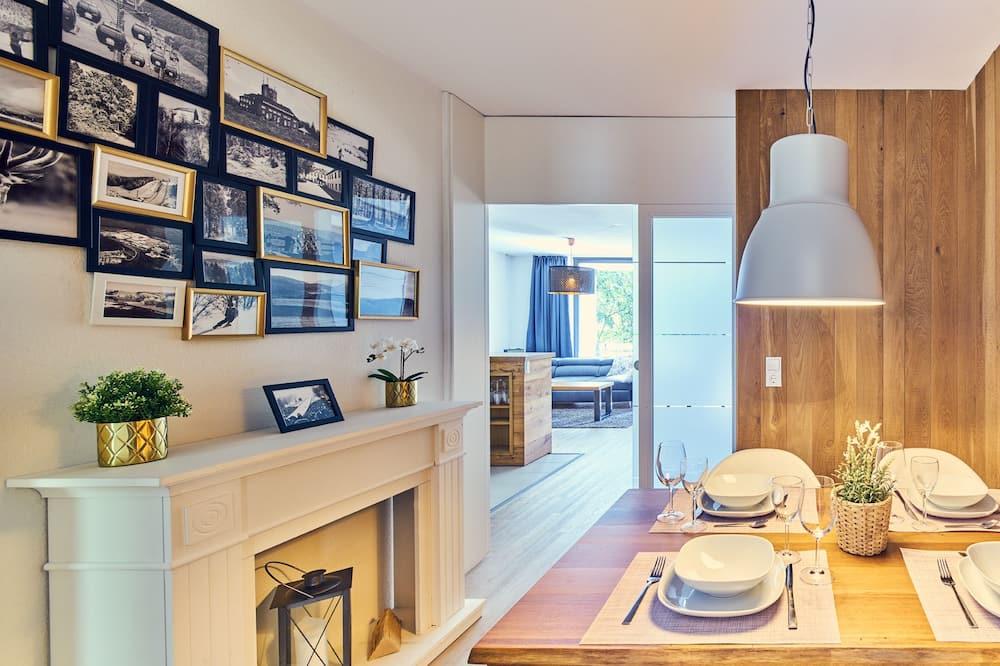 Apartmán typu Superior, 1 ložnice, terasa - Stravování na pokoji
