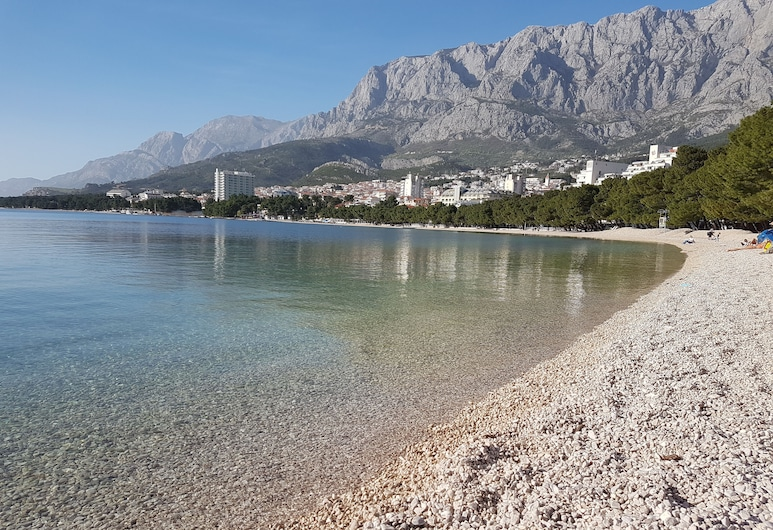 Familia City Center Apartmants , Makarska, Strand