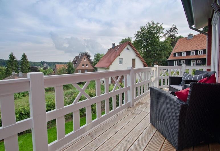 Ferienhaus Luchs , Goslar, Terrace/Patio