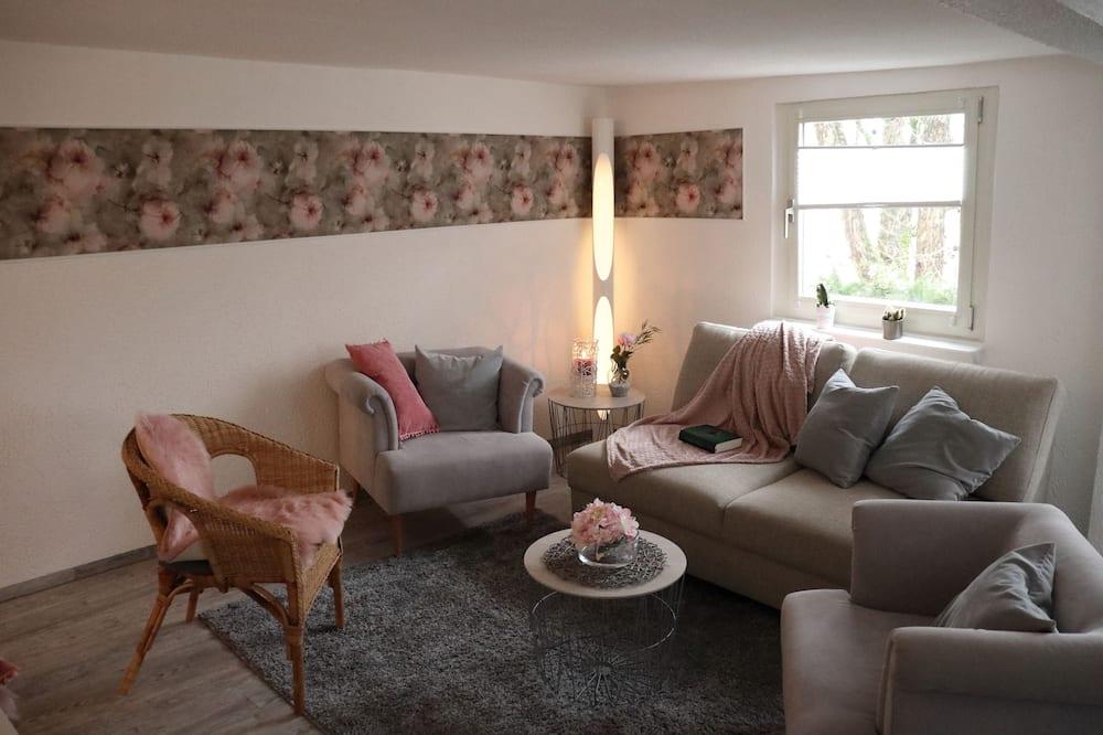 Romantisches Apartment - Wohnzimmer