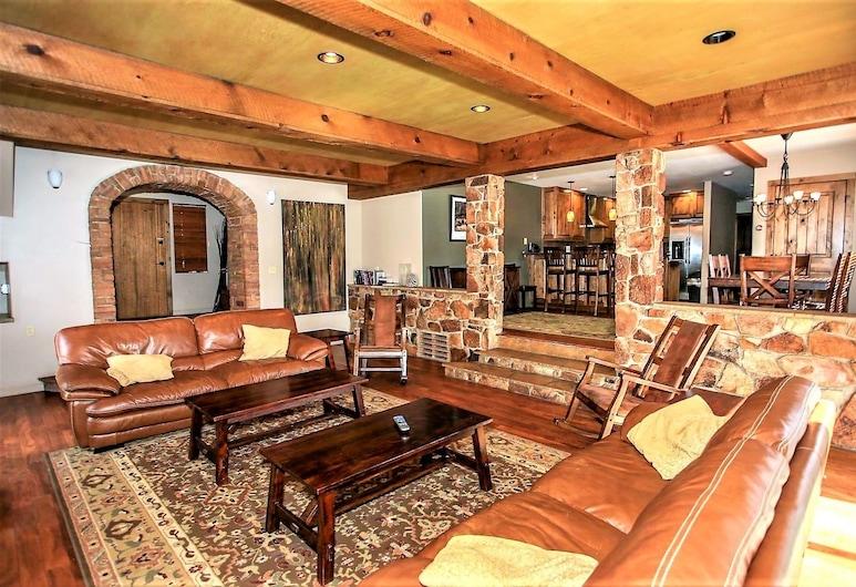1164-westfall Mountain Lodge, Danau Big Bear , Ruang Keluarga