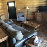 Superior kunyhó, 2 hálószobával, kilátással a hegyre - Nappali rész