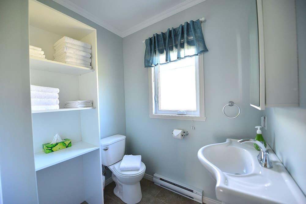 小木屋, 2 間臥室, 非吸煙房, 海景 - 浴室