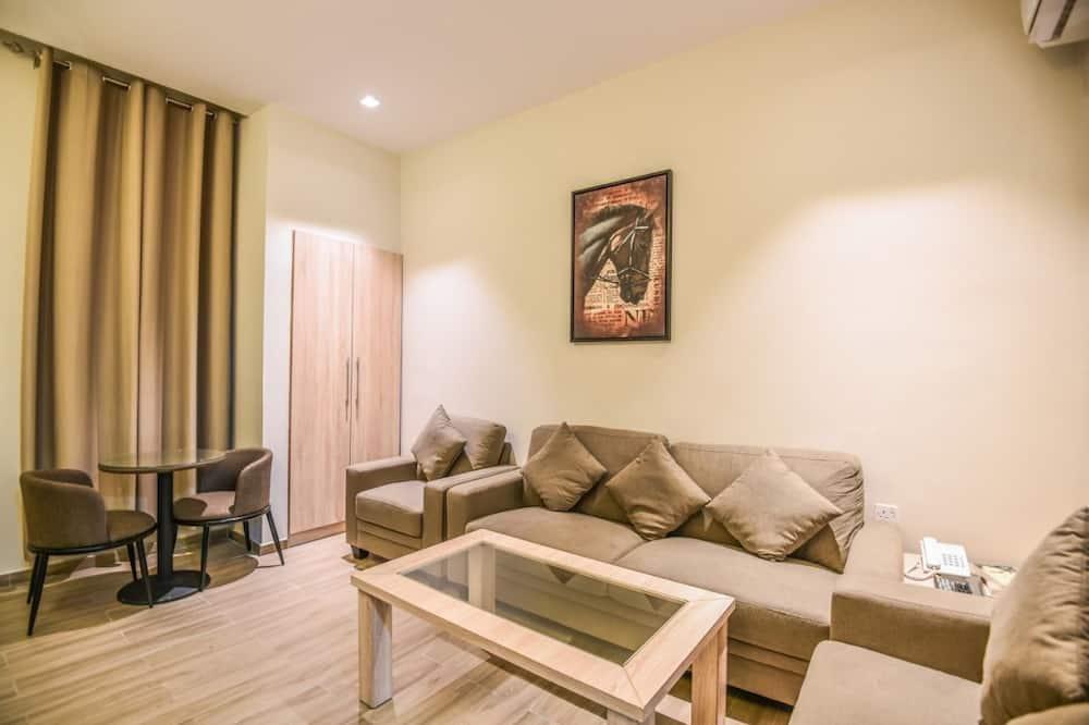 סוויטה משפחתית, 2 חדרי שינה (Double) - אזור מגורים