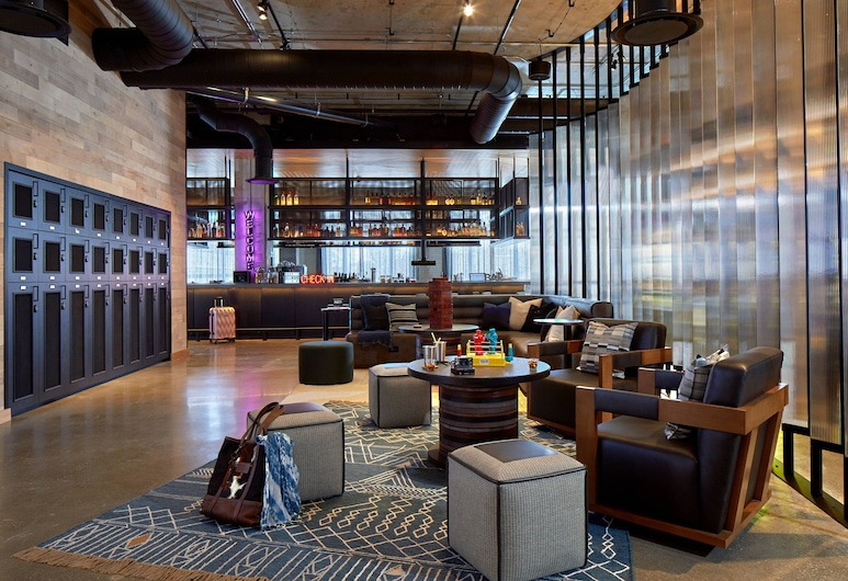 Moxy Columbus Short North, Columbus, Lobby