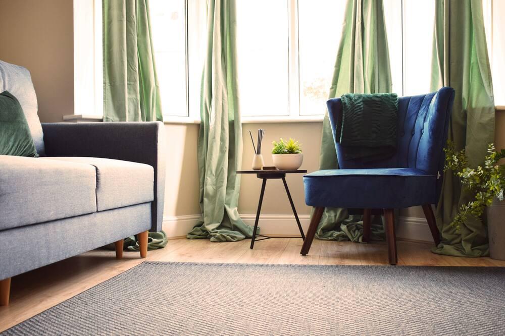 디자인 하우스, 침실 3개 - 거실 공간