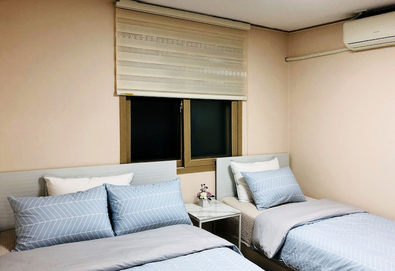 아워 하우스, 서울특별시, 베이직룸, 침대(여러 개), 금연, 객실