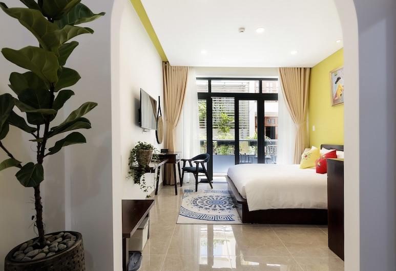 Chez Mimosa Petite, Ho Chi Minh-Stad, Luxe Twin kamer, Balkon, Kamer