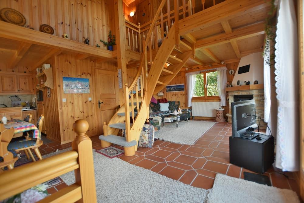 Luksuzna planinska kuća - chalet (incl. Cleaning Fee CHF 168.00) - Dnevni boravak