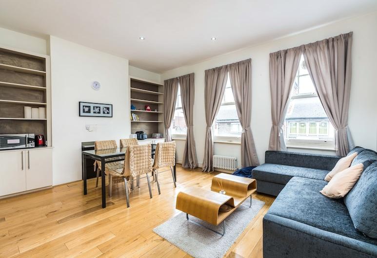 時髦 2 房公寓離倫敦中央超級近酒店, 倫敦, 公寓 (2 Bedrooms), 客廳