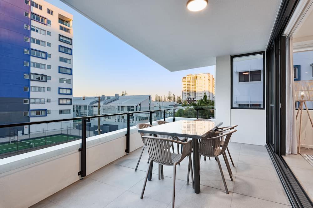 Семейные апартаменты, 3 спальни - Балкон
