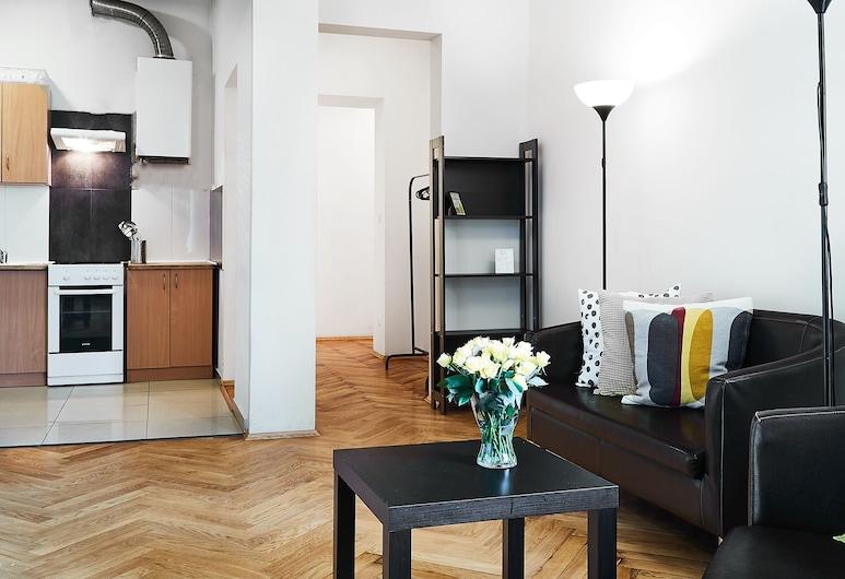 Classic apartments Pilsudskiego street, Krakow, Leilighet, 3 soverom (7a), Rom
