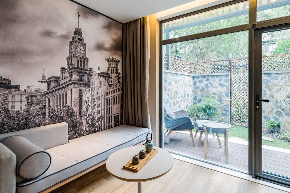 Phòng 2 giường đơn dành cho gia đình - Phòng khách
