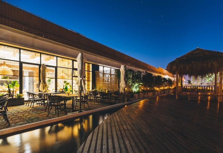 โรงแรมอะทัวร์ วัดขงจื้อ ชวีฟู่, Jining, ร้านอาหาร