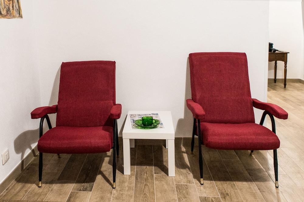 Standard Δίκλινο Δωμάτιο (Double) (Antica) - Περιοχή καθιστικού