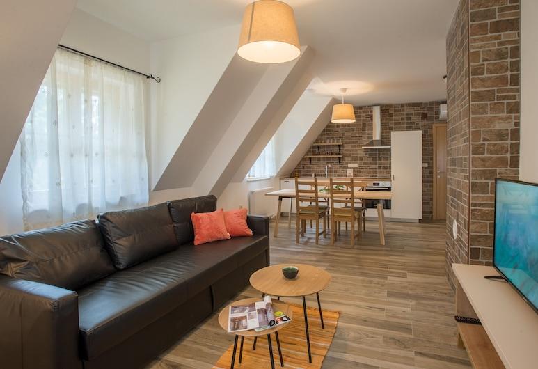 ذا ستارلينجز أبارتمنتس, بليتفيكا جزيرا, شقة - غرفة نوم واحدة, منطقة المعيشة