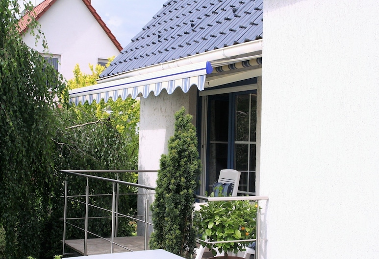 納奇提加爾渡假屋飯店, 呂貝瑙/施普利瓦爾德, 公寓, 露台