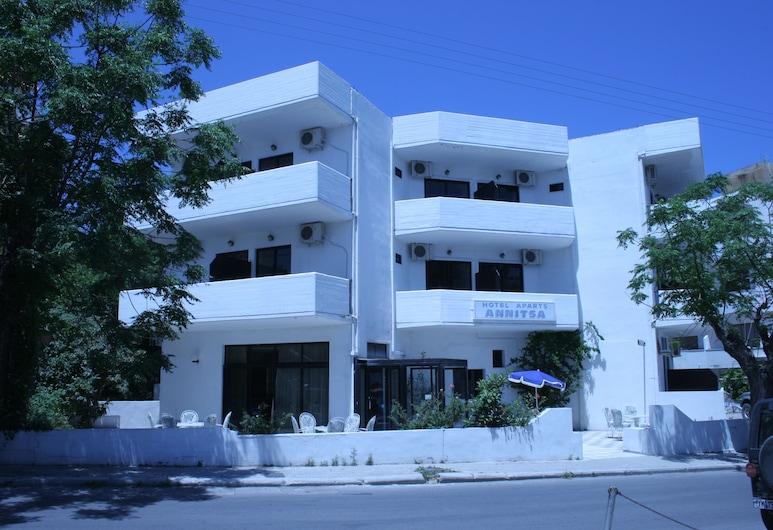 Annitsa Apartments, Rodas, Vista frontal de la propiedad