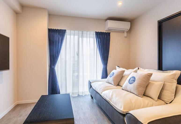 LAPIN MIHAMA Residence Hotel, Chatan, Standard szoba, Nappali rész