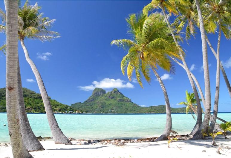 SUNSET HILL LODGE, Bora Bora, Plage