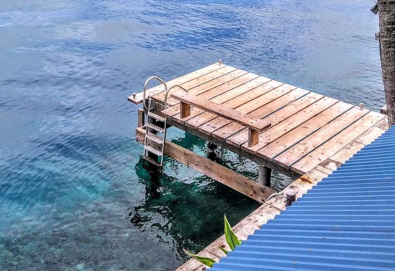 SUNSET HILL LODGE, Bora Bora, Villa Moana, Panoramic Apartment 1, Terrace/Patio