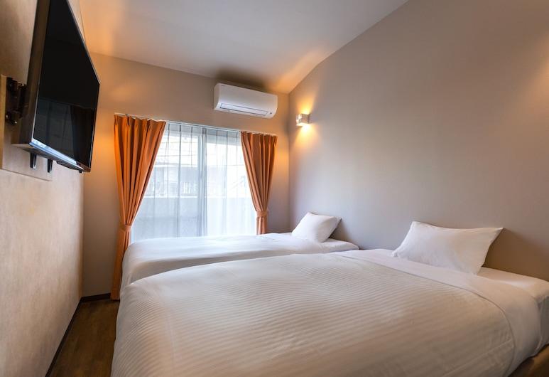 金城先生庫尼達繽紛酒店, 那霸, 雙床房, 客房
