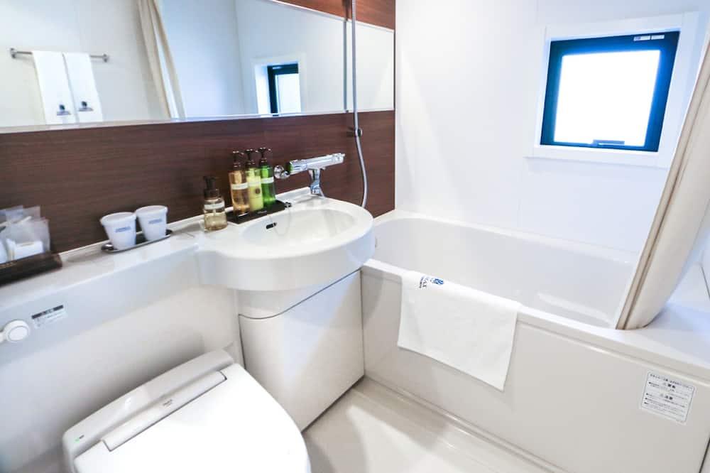 Zweibettzimmer, Raucher - Badezimmer