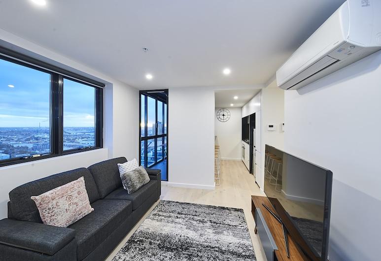 Mega Style Apartments Southbank Crown, Southbank, Executive Apartment, Living Area