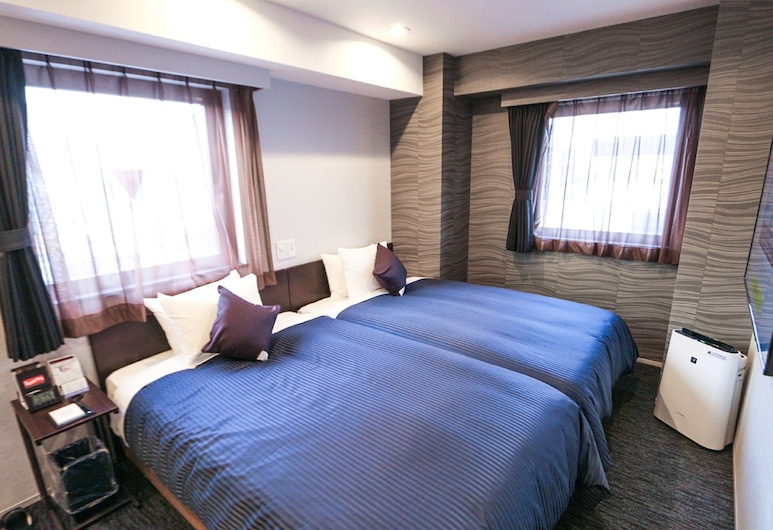 Hotel LiVEMAX Tokyo Kanda-Ekimae, Tokyo, Twin Room, Smoking, Guest Room