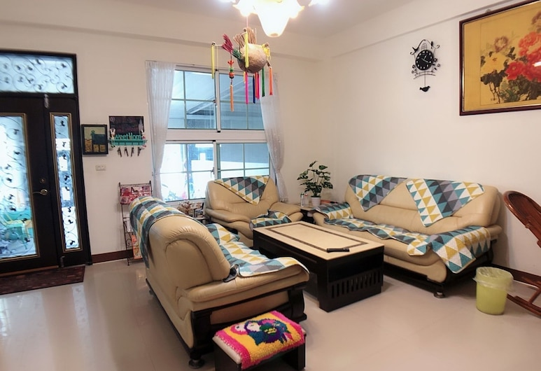 Zheng Yi Homestay, Taitung, Prostor za sjedenje u predvorju