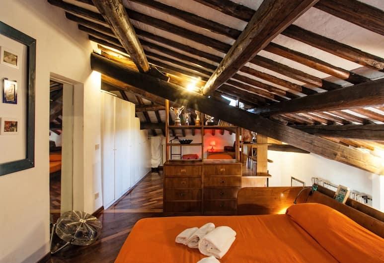 Amazing Apartment With Terrace in Piazza del Fico, Close Piazza Navona, Rome, Appartamento (1 Bedroom), Camera