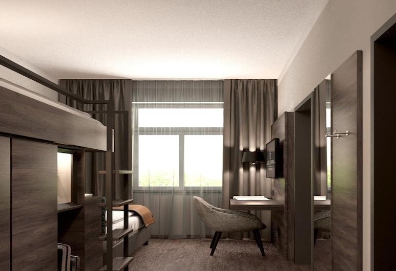 هوتل جيرمانيا, ميونيخ, غرفة بريميم لاثنين, منطقة المعيشة