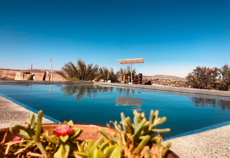 Maison Boutchrafine, Aarab Sebbah Ziz, Πισίνα με θέα