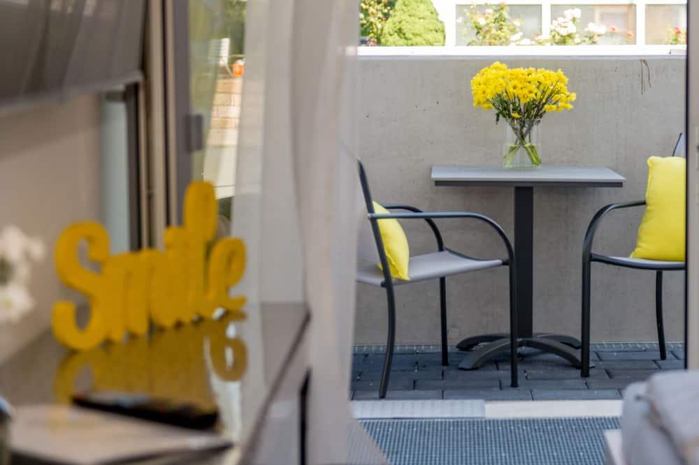Deluxe-Apartment, Nichtraucher, Kochnische - Balkon