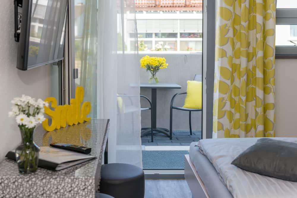 Deluxe-Apartment, Nichtraucher, Kochnische - Wohnbereich