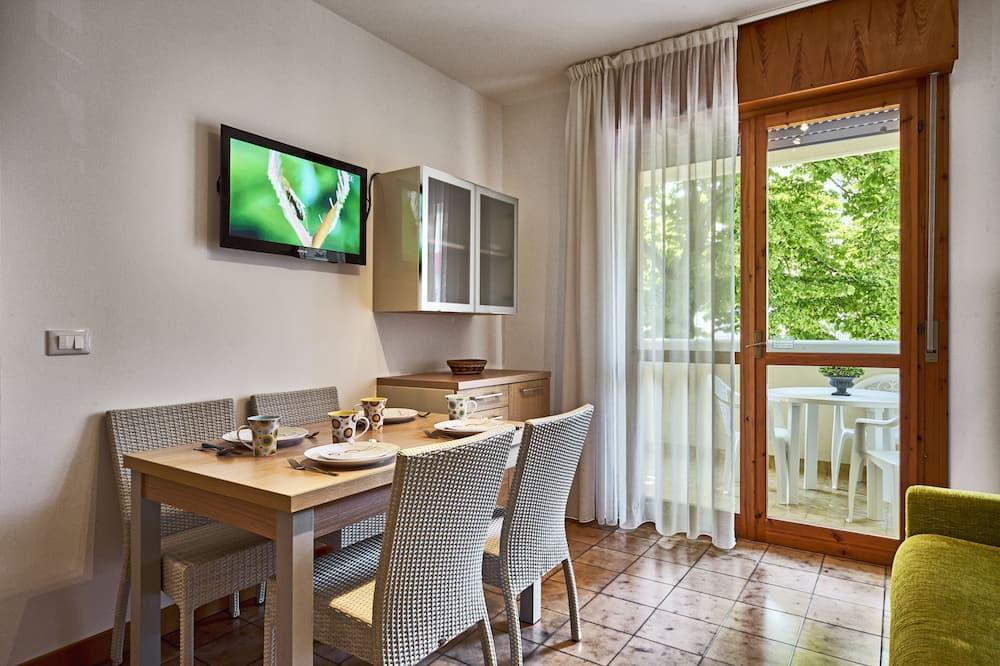 高級公寓, 1 間臥室 (5 pax) - 客廳