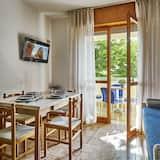 舒適公寓, 1 間臥室 (4 pax) - 客廳