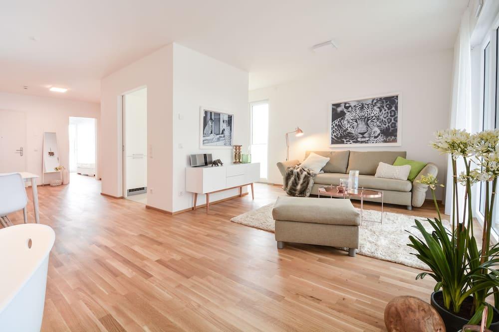 Exclusive-Apartment, 1 Schlafzimmer (Kontaktloser Check-in - L) - Wohnbereich