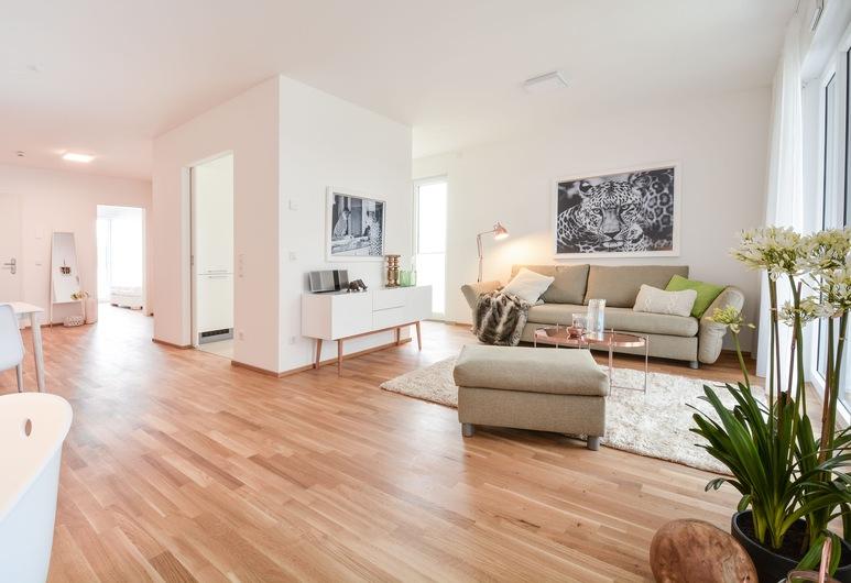Lunas Appartements in Essen, Essen, Exclusive külaliskorter, 1 magamistoaga (Kontaktloser Check-in - L), Lõõgastumisala