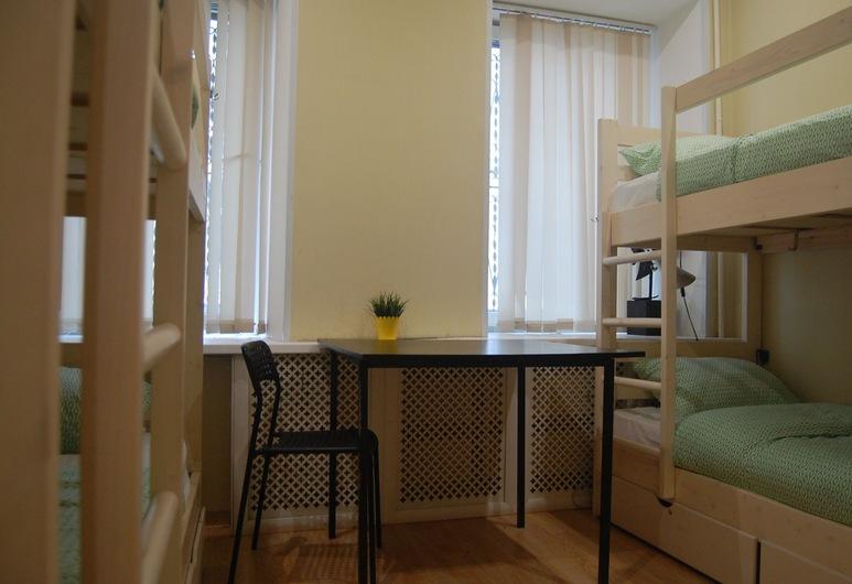 Hostel Lime, Moskwa, Wspólny pokój wieloosobowy, koedukacyjny pokój wieloosobowy (6 guests), Pokój