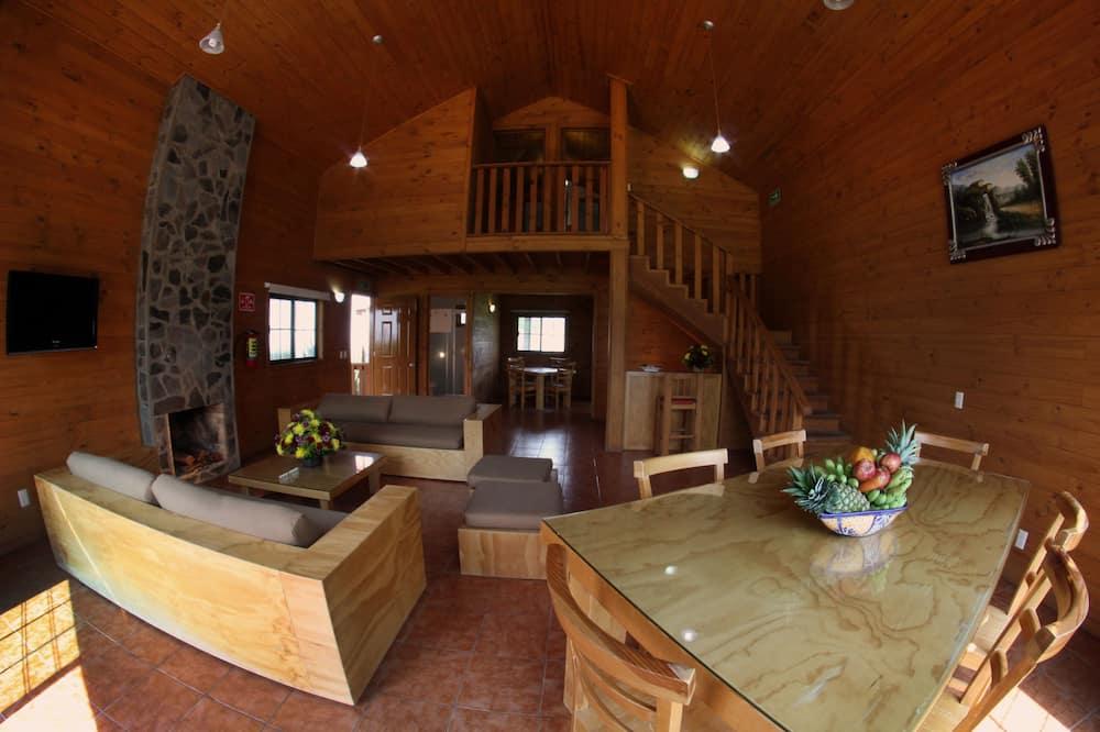 Семейный домик, 2 спальни - Зона гостиной