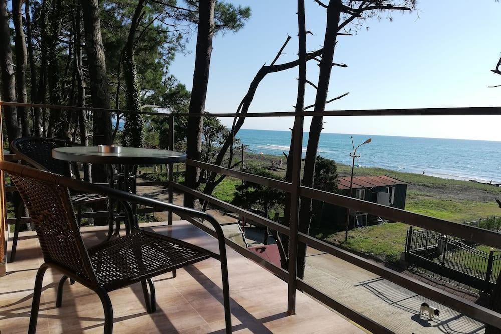 Comfort-Dreibettzimmer - Blick vom Balkon