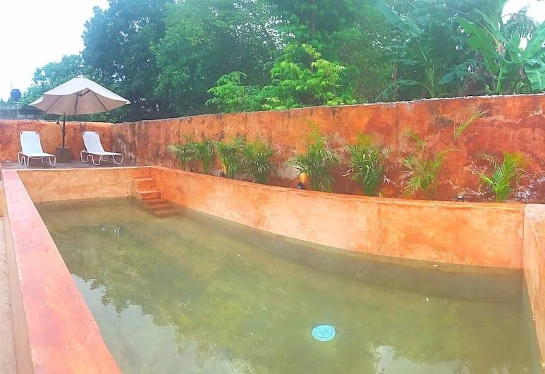 La Mexicana en Casa Mexique Desayuno Incluido, Campeche, Pool
