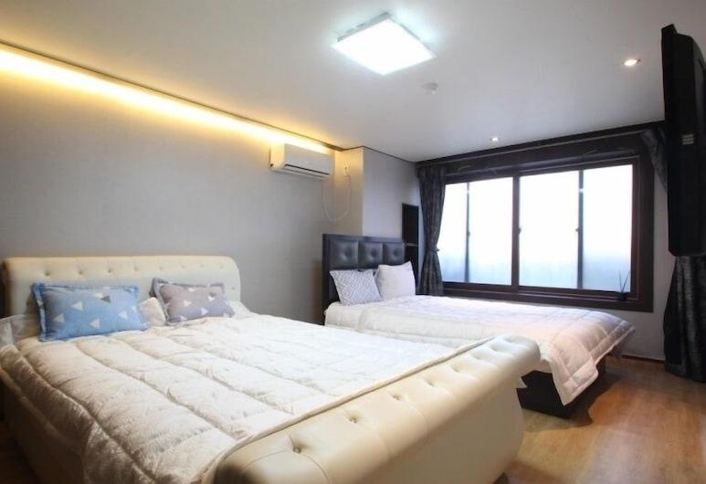 月曬飯店, 釜山, 家庭客房 (701), 客房