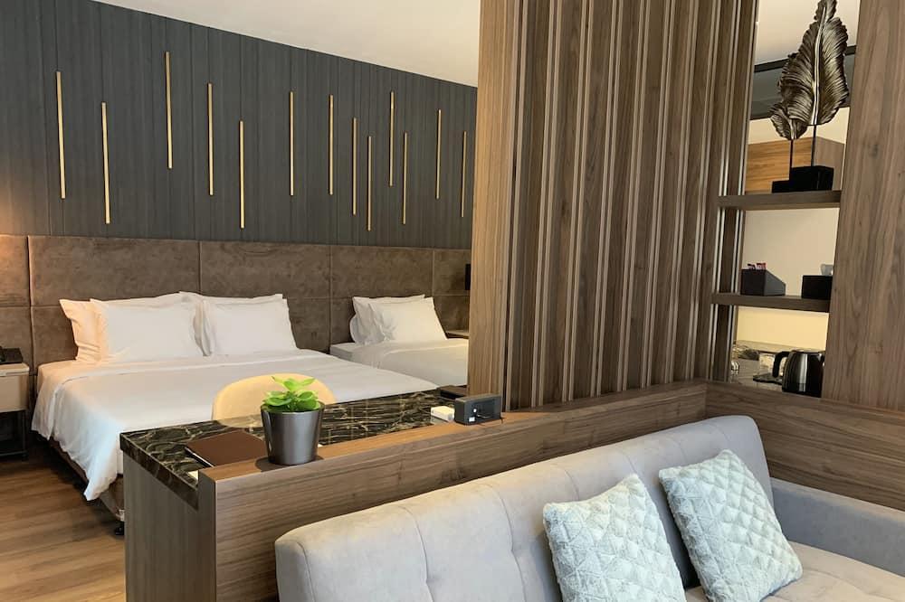 ห้องแฟมิลี่ - การตกแต่งภายในโรงแรม