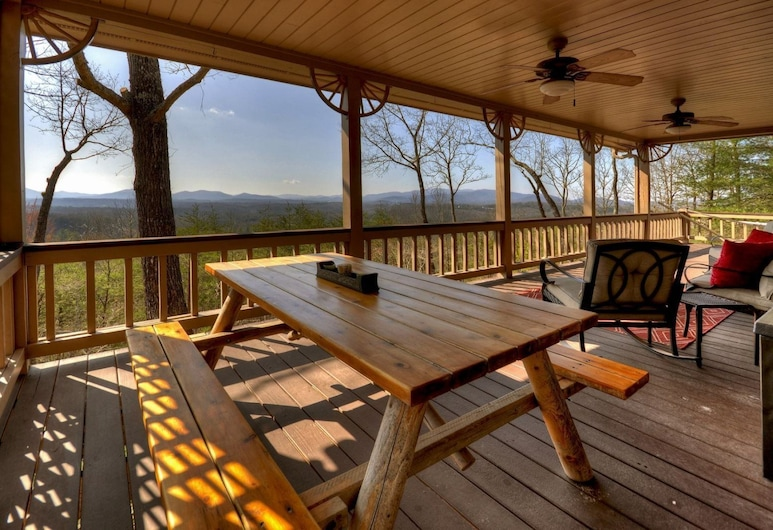 My Mountain RendezView, Morganton, Balcony
