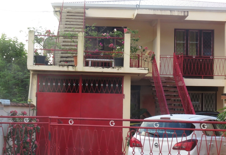 Apartment With one Bedroom in Fort-de-france, With Furnished Balcony and Wifi - 2 km From the Beach, Fort-de-France, Terasa