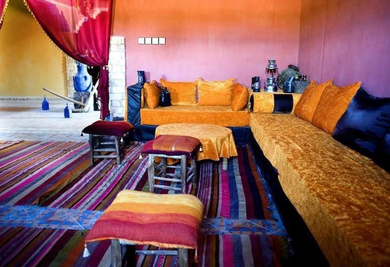 Dar Haroun, Rissani, Suite, Wohnzimmer